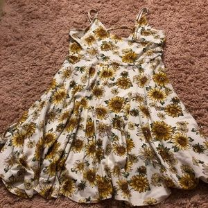 Forever 21 Sunflower dress